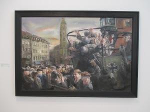 """""""Geraer Arbeiter 1920""""    Bernhard Heisig"""